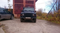 Front grill Land Rover Defender 90/110 with a/c